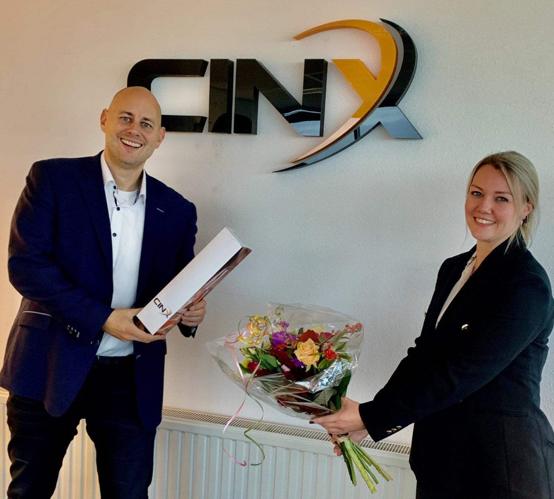 Shannen Beekman start bij CINX